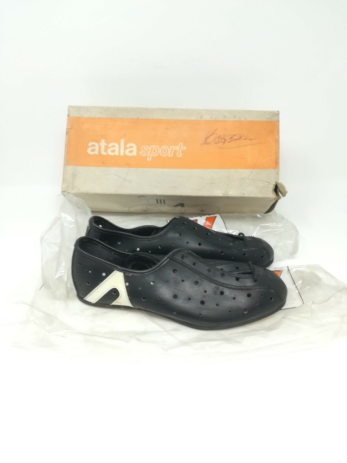 Vintage chaussures cycling cycling chaussures Atala Sport 37 NOS