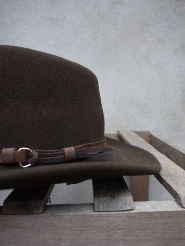 Outback Olive flexfelt//soffelt Bush Chapeau par Olney coiffure 100/% laine S//M//L//XL