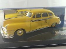 "Vitesse CHRYSLER WINDSOR ""YELLOW CAB"" NY  TAXIS OF THE WORLD CITY COLLECTION"