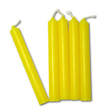 Yellow Chime Candles | Lot of 20 | Wiccan Wicca Pagan Magical Ritual Supplies