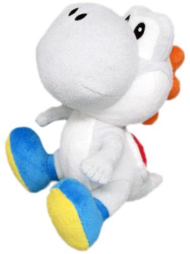 """Super Mario Bros Yoshi WHITE 6/""""  Plush Official Sen-Ei Little Buddy"""
