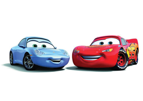 STICKERS AUTOCOLLANT TRANSPARE POSTER A4 FILM ANIMATION DISNEY PIXAR CARS.MAC QU