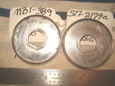 Radio Knob Back Plate Used Pair 58 Chevy 58 59 Corvette