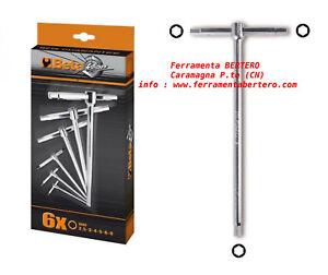 Serie-chiavi-Beta-Tools-951-S6-estremita-maschio-esagonali-brugola-a-T-6-pezzi