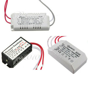 110 220v 12v halogen led lamp electronic power supply. Black Bedroom Furniture Sets. Home Design Ideas