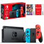 Nintendo-Switch-Neon-Joy-Con-Console-Mario-Kart-8-Deluxe-amp-Online-Membership thumbnail 1