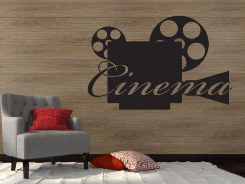 Wall Vinyl Sticker Decal Camera Video Film Hollywood Bollywood Filmservis n074