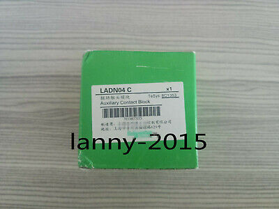 1PC Schneider contactor auxiliary contact LADN04C