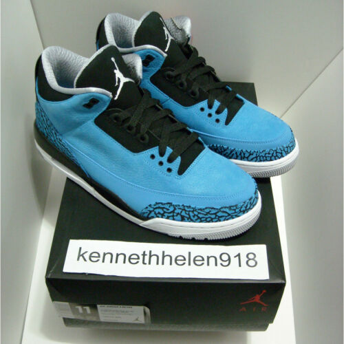 Retro 136064 Puderblau III 2014 406 Jordan 3 Neu Nike Air thrsQdC