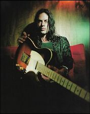 Richie Kotzen (The Winery Dogs, Poison) Fender Telecaster guitar 8 x 11 pinup