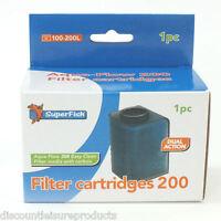 Super Fish Aqua Flow 200 Aquarium Filter Cartridges