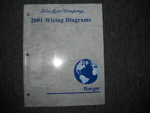 2001 Ford RANGER TRUCK Electrical Wiring Diagrams Service ...