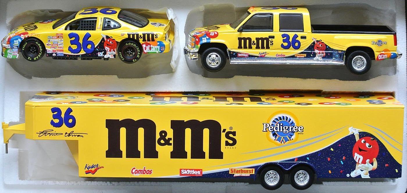36 Crew Cap Trailer NASCAR 1999  m&m 's conto alla rovescia  Ernie Irvan-LIM 1 24.