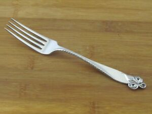 Wallace-Orchid-Elegance-Sterling-Dinner-Fork-7-7-8-034-No-Mono-Flatware-Silverware
