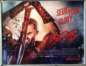 Details About Cinema Poster 300 Rise Of An Empire 2014 Sword Quad Lena Headey Eva Green