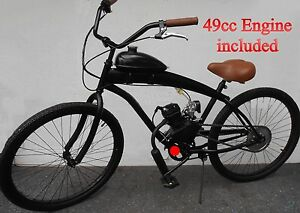49cc Engine Stretch Cruiser Bike Kit Motorized Bike Motor