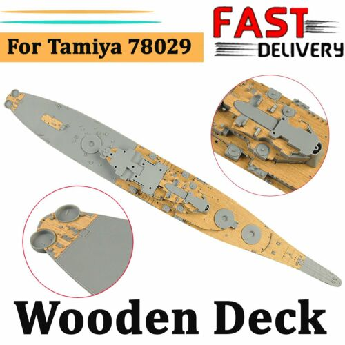 Holzdeck Deck Kit für Tamiya 78029 1//350 USS Missouri BB-63 Circa 1991 Model Neu