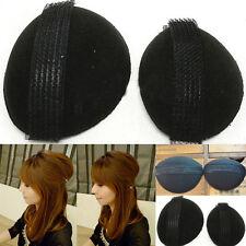 Hot 2Pcs/Set Women Hair Updo Hairpin Comb Magic Charm Clip Maker Tool Sponge Bun