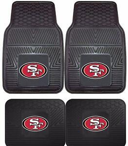 San-Francisco-49ers-Heavy-Duty-Vinyl-Car-Truck-SUV-Auto-Floor-Mats
