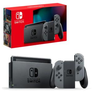 Nintendo Switch Grey Joy-Con Console NEW
