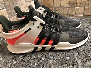 the best attitude 79aff af1bc Details about NEW! Adidas Originals: Mens Size 13 EQT Support ADV 91-16  Black Infrared BB1302