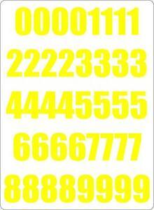 Set-40x-autocollant-sticker-porte-voiture-moto-numero-nombre-chiffre-course-jaun