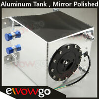 Universal Lightweight Aluminum 2.5 Gallon Fuel Cell Tank + Gm Sending Unit