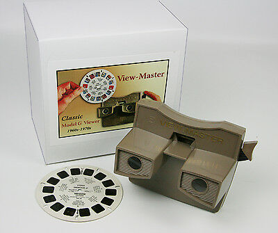 ViewMaster Viewer -Classic MODEL G - from 1970s - Reconditioned - Vintage
