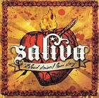 Blood Stained Love Story [PA] by Saliva (CD, Jan-2007, Island (Label))