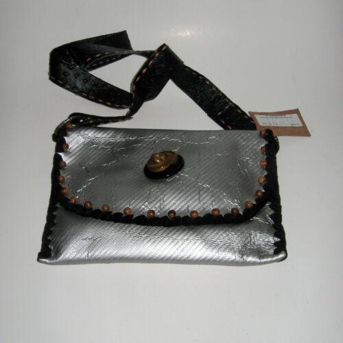 Faux bakeliet handtas portemonnee Originals Beaded zilveren Watson Burt lederen j4Lc5q3RAS