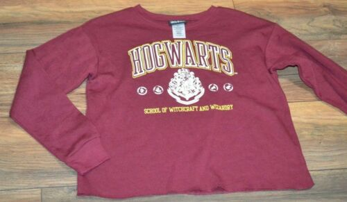 Harry Potter Hogwarts Sweatshirt Juniors Super Soft Fleece Lined Licensed Top