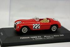 Ixo 1/43 - Ferrari 166 MM Le Mans 1949 N°22