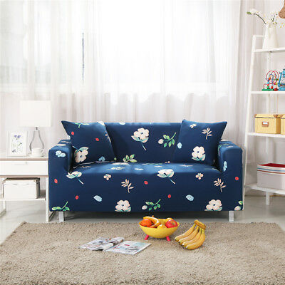 Easy Fit Stretch Sofa Slip Over Couch Settee Fit Cover Elastic Fabric Protector
