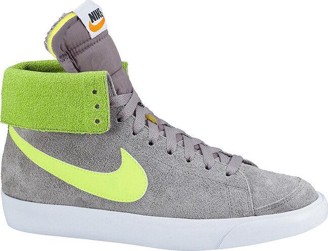 Womens Nike Gr:39 Blazer High Roll Vintage Suede Neu Gr:39 Nike Grau/Gelb Vortex Sneaker f8357f
