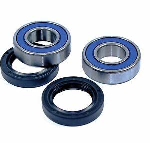 Rear Wheel Bearings Suzuki LT80 KFX80 LTZ90 QUADSPORT ALL BALLS 25-1158 APU