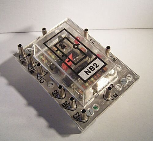 """10 118 DDR Experimentierkasten Polytronic A1-A3 """"NAND-Baustein NB 2 DDR & Ostalgie DDR"""