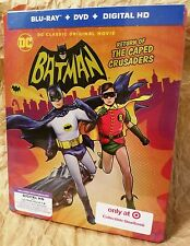 Batman RETURN OF THE CAPED CRUSADERS Blu-Ray Target Exclusive Limited STEELBOOK