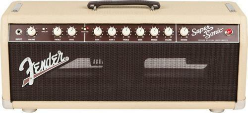 fender super sonic head 60 watt guitar amp for sale online ebay. Black Bedroom Furniture Sets. Home Design Ideas