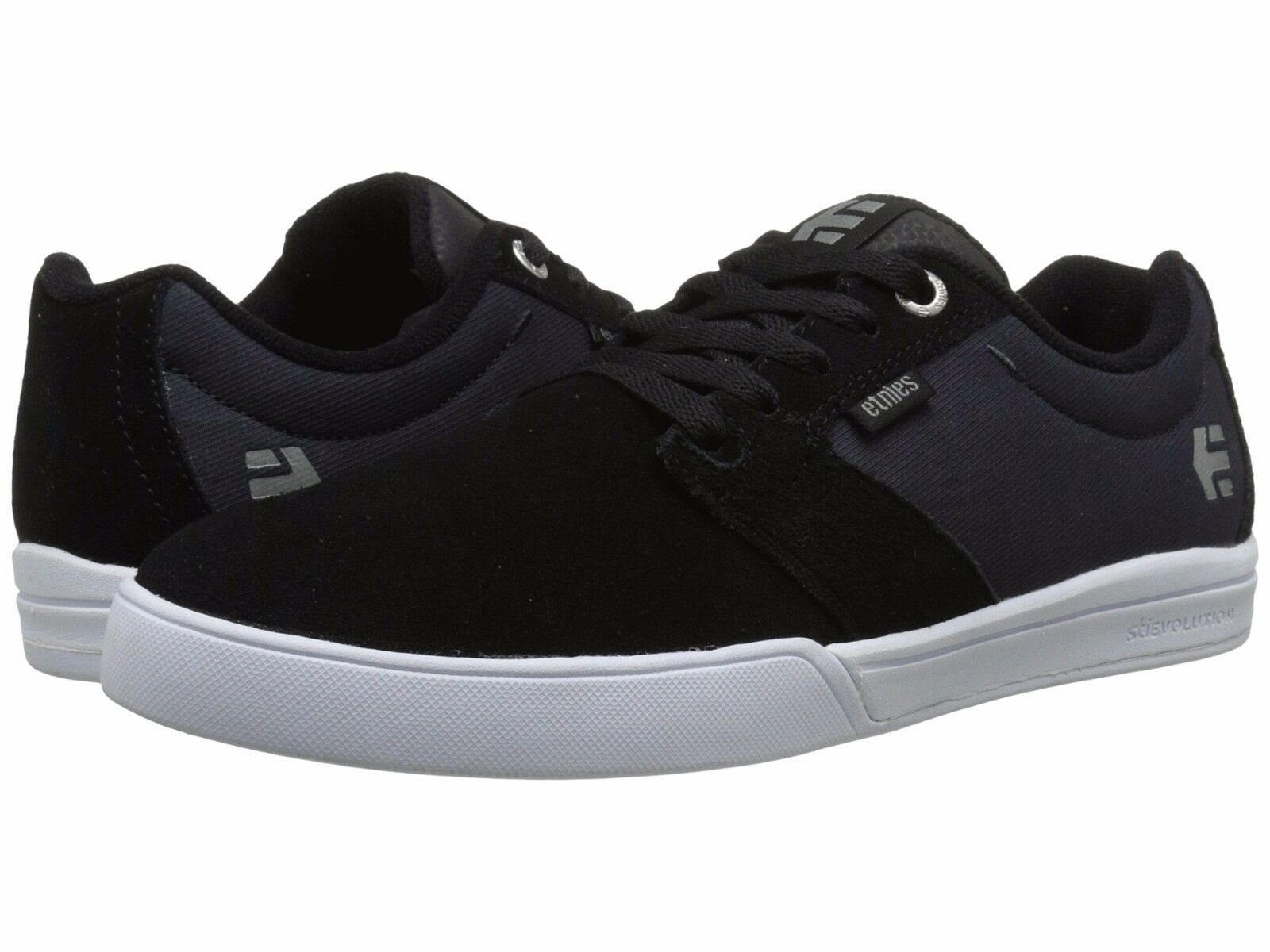 MENS ETNIES JAMESON E LITE SKATEBOARDING SHOES NIB BLACK NAVY
