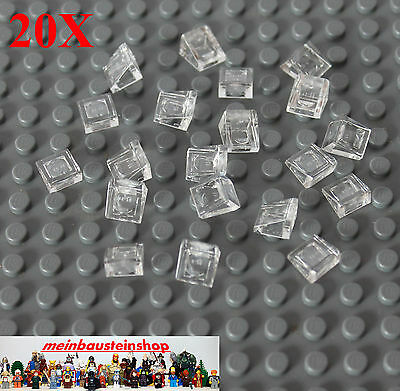 20X Lego® 92411 Winkelplatten Konverter Halter Angle 1X2-2X2 Schwarz Black NEU