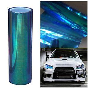 Colorful-Blue-Car-SUV-Headlight-Taillight-Vinyl-Tint-Film-Wrap-30-200CM-RA