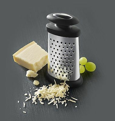 Boska Holland Explore Trio Formaggio 3-Way Compact Stainless Steel Cheese Grater