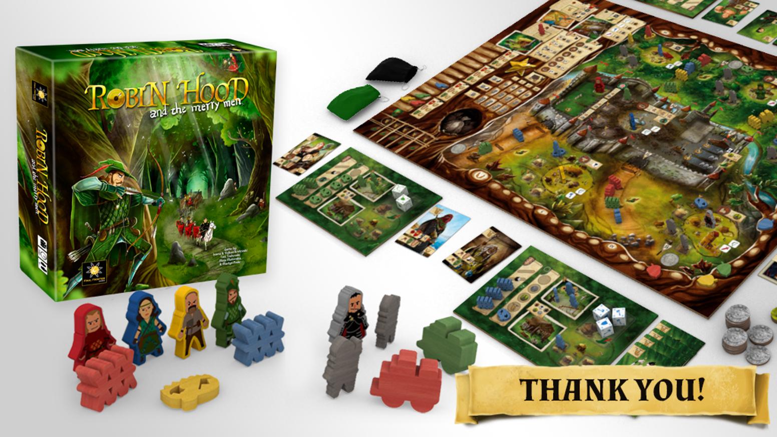 Final Froncravater jeux Robin Hood & The Merry Hommes  Board Game Pédale De Démarrage deluxe  commandez maintenant avec gros rabais et livraison gratuite
