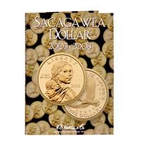 H.e. Harris 2943 Sacagawea Dollar 2005-2008 Folder With Free Shipping