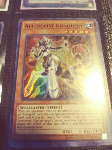 Yugioh Altergeist Kunquery OP11-EN006 Super Rare NM