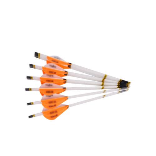 Heat shrink glue Shaft Stickers DIY Decorative Orange//Green Arrow 6pcs//pack Wrap