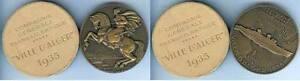 Medaille-de-table-Paquebot-VILLE-D-039-ALGER-IX30-1935-d-68mm-DELAMARRE-1935-CGT