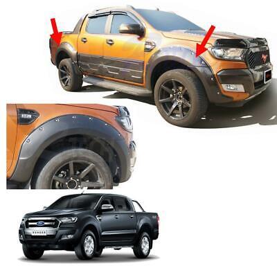 Off Road Fender Flares Wheel Arch Nuts Ford Ranger Truck 4 Door Wildtrak 2015 17