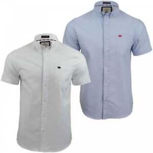 Mens-High-Quality-Shirt-Brave-Soul-Oxford-Shirts-Short-Sleeves-Chest-Pocket