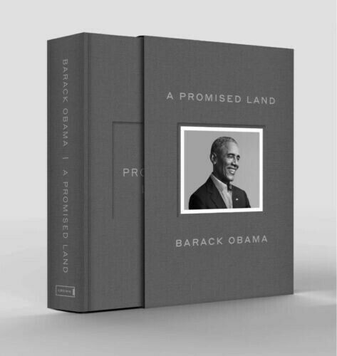 "SHIPS ASAP🚀 BARACK OBAMA SIGNED ""A PROMISED LAND""  1ST EDITION DELUXE HARDCOVER"